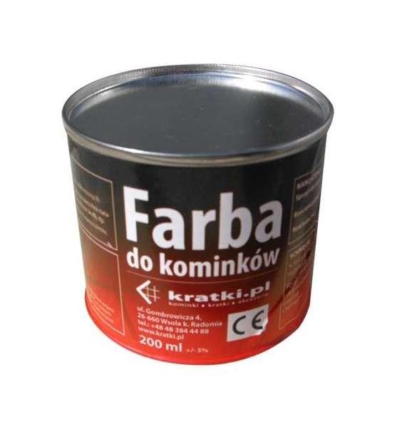 KRATKI Kratki Farba na krby 200 ml - šedá