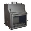 Teplovodní krbová vložka Zuzana 15 kW - rovné presklenie DOPRAVA ZADARMO