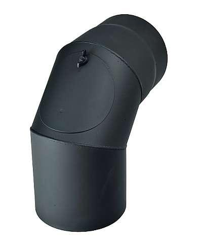 KRATKI Dymovod koleno čistiaci 90°, Ø 180 mm Kraus