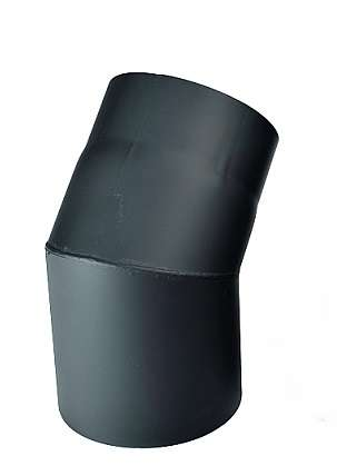 KRATKI Dymovod koleno 45°, Ø 200 mm Kraus