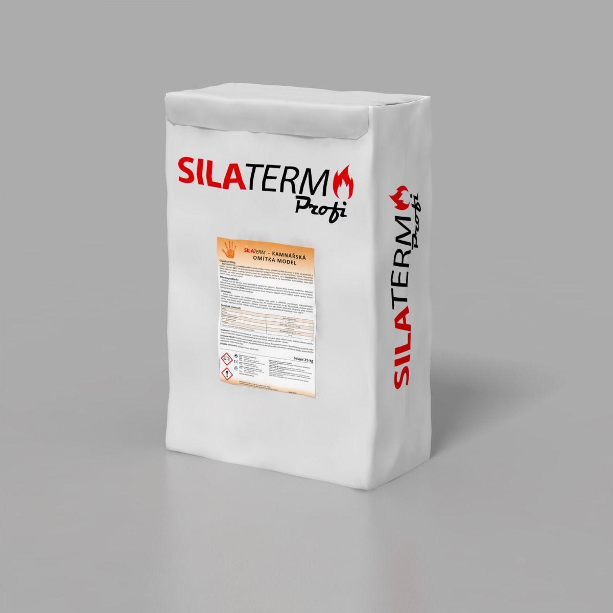 KRATKI Kamnářská omítka MODEL - 5 kg Silaterm