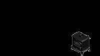 KRATKI Liatinové krbové kachle Kratki Koza K6 - průměr 150 s automatickým riadením prívodu vzduchu ASDP DOPRAVA ZADARMO