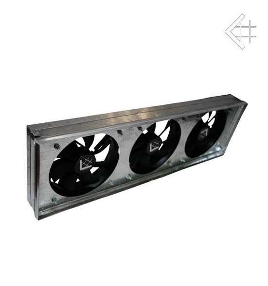 KRATKI Zder mriežková s tromi ventilátormi KRATKI